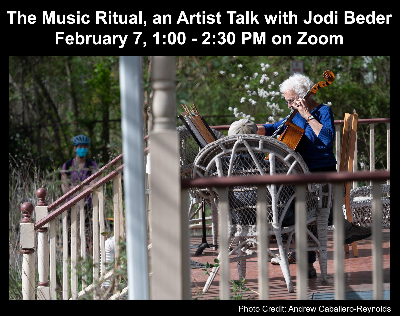 The Music Ritual, an Artist Talk with Jodi Beder